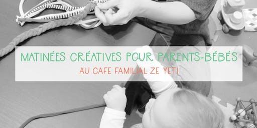 Atelier créatif parents-bébés - Ze Yeti