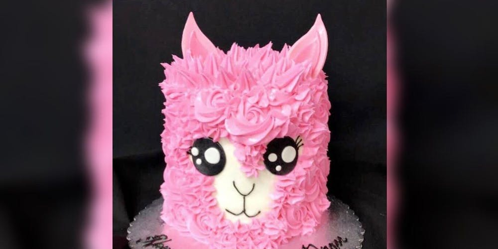 Llama Cake Decorating Tickets Tue Nov 13 2018 At 600 Pm Eventbrite