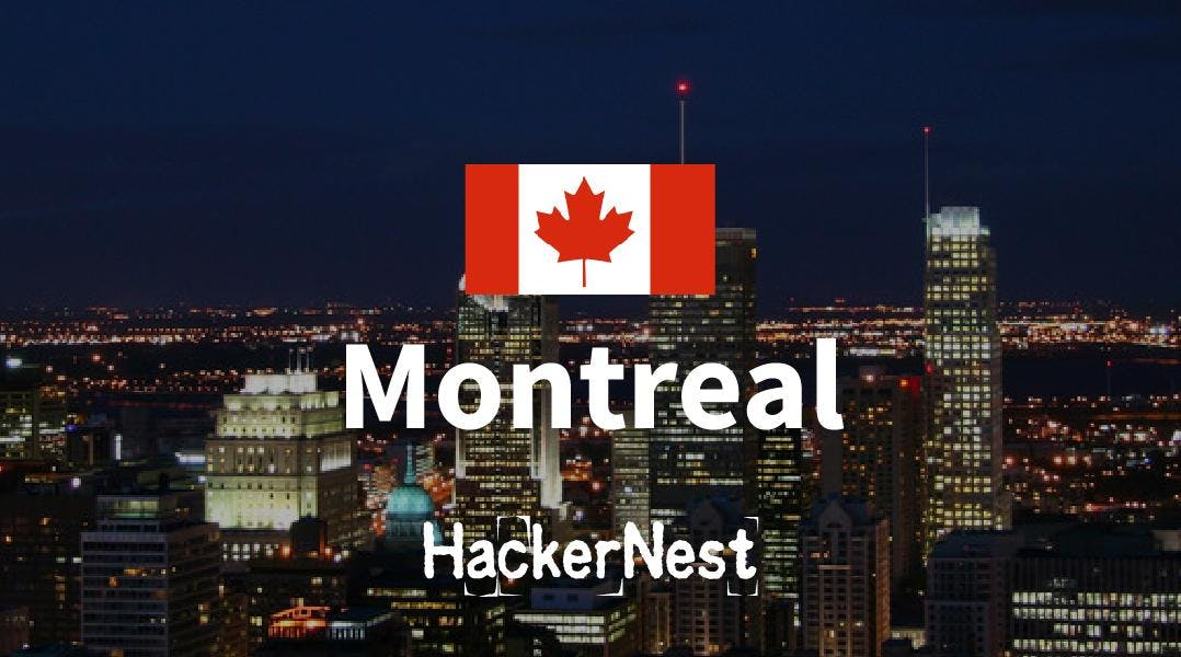HackerNest Montreal September Tech Social
