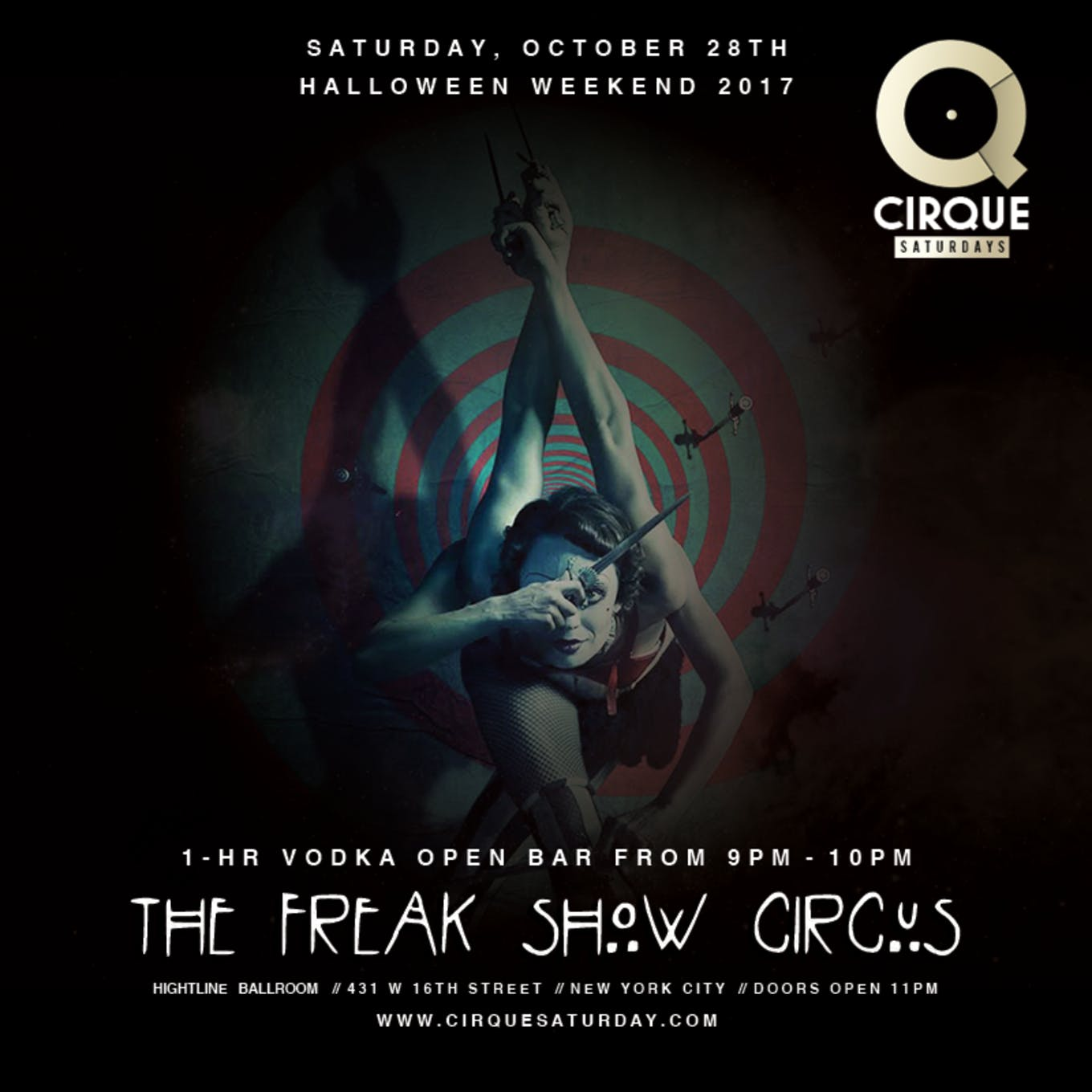 Highline Ballroom Annual Halloween Bash Le Ci