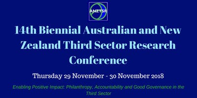 14th Biennial Australian and New Zealand Third Sector Research Conference