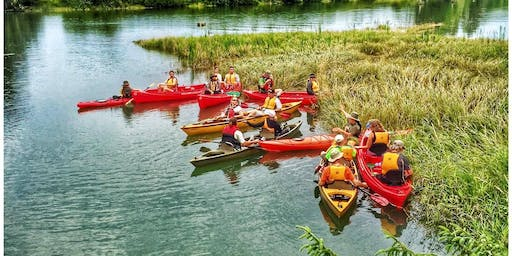 Kayak Tours on Lewis and Clark River