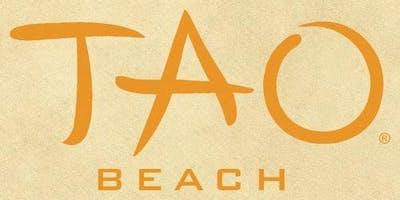 TAO Beach - Guest list - 4/5