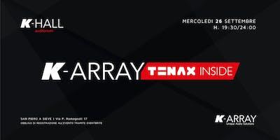 K-ARRAY < TENAX inside