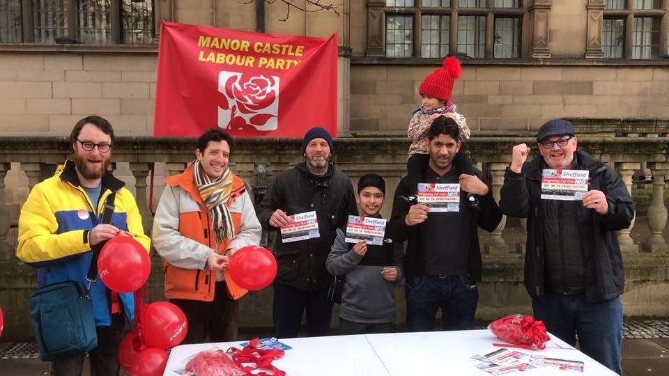 Manor Castle Labour Party - Race Night Fund Raiser