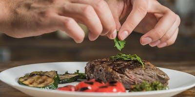 Cena guidata alla scoperta della carne di maiale e delle erbe di campo