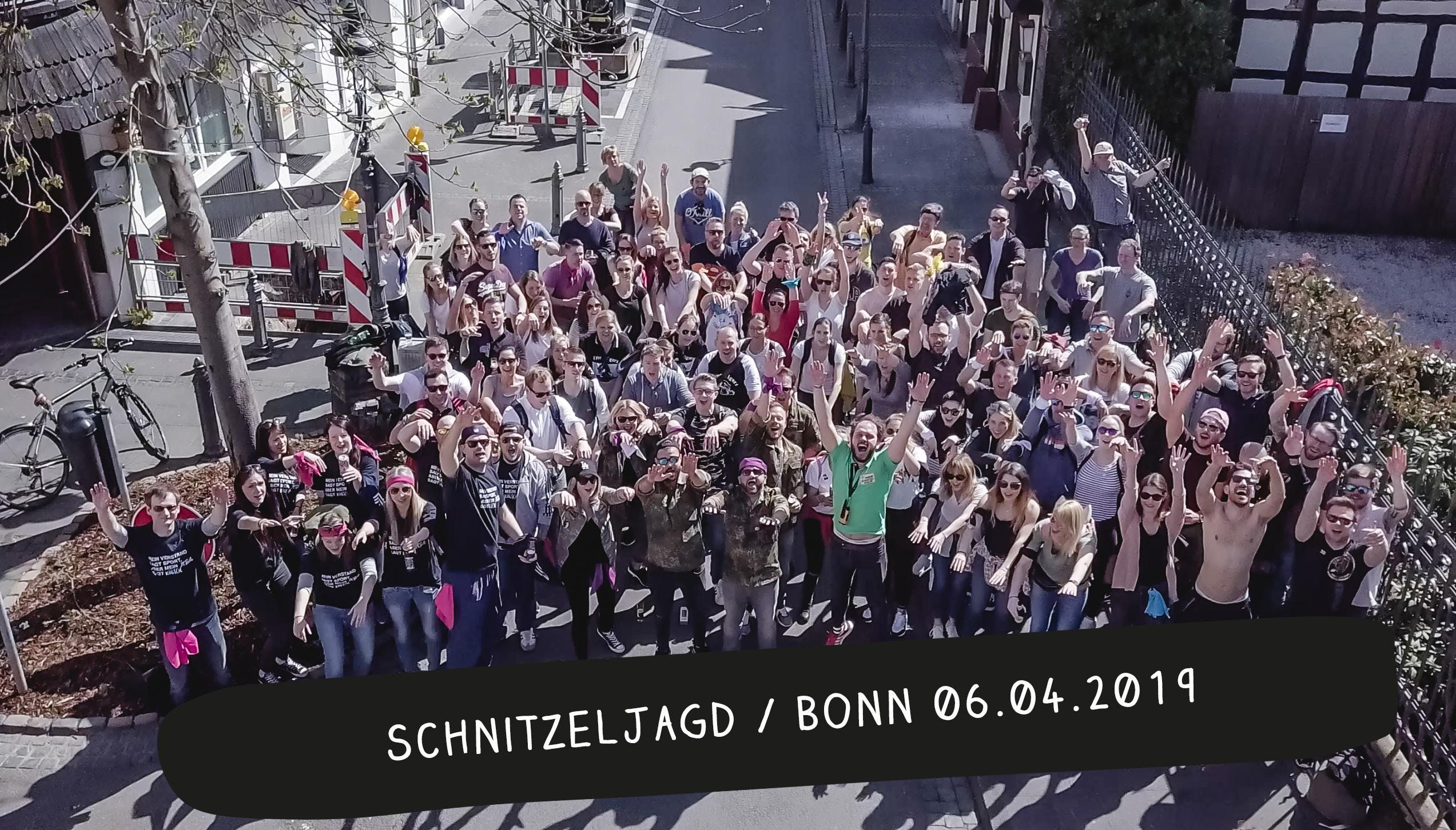 Schnitzeljagd / Bonn Frühjahr 2019 at Bonn, Bonn