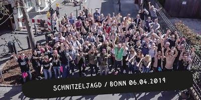 Schnitzeljagd / Bonn Frühjahr 2019