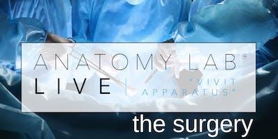 ANATOMY LAB LIVE : THE SURGERY | Essex 14/04/2019