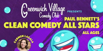 The All Ages Clean Comedy Show! 2