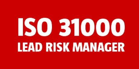 ISO 31000 Lead Risk Manager bilhetes