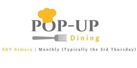 October Pop-Up Dining tickets
