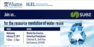 The Resource Revolution of Water Reuse