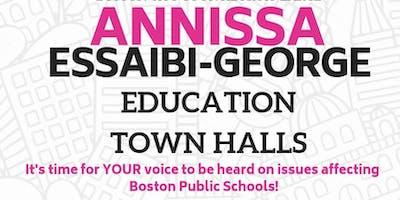 City Councilor At-Large Annissa Essaibi-George's Education Town Halls