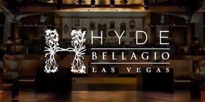 Hyde Nightclub @ Bellagio - Guest List & VIP - 4/5