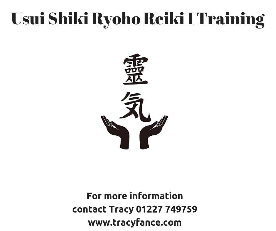 Usui Shiki Ryoho Reiki Level I Workshop 13 Oct 2018
