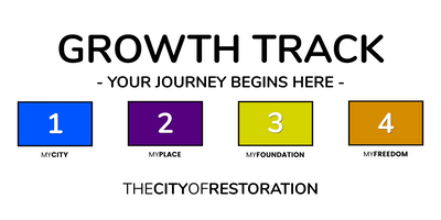 GROWTH TRACK AT THE CITY OF RESTORATION