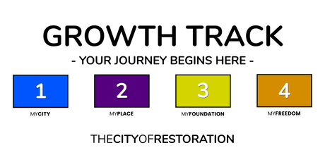 GROWTH TRACK AT THE CITY OF RESTORATION tickets