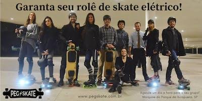 Rolê de Skate Elétrico (Gratuito para Organizadores)