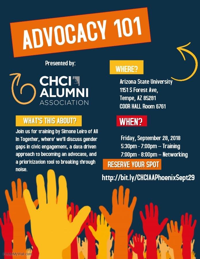 CHCI Alumni Association Presents: