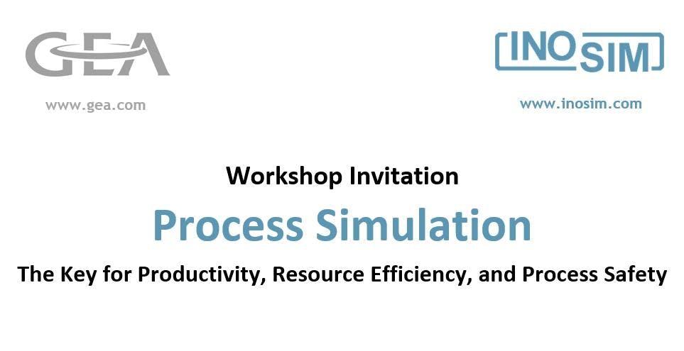 GEA/INOSIM Workshop on Process Simulation