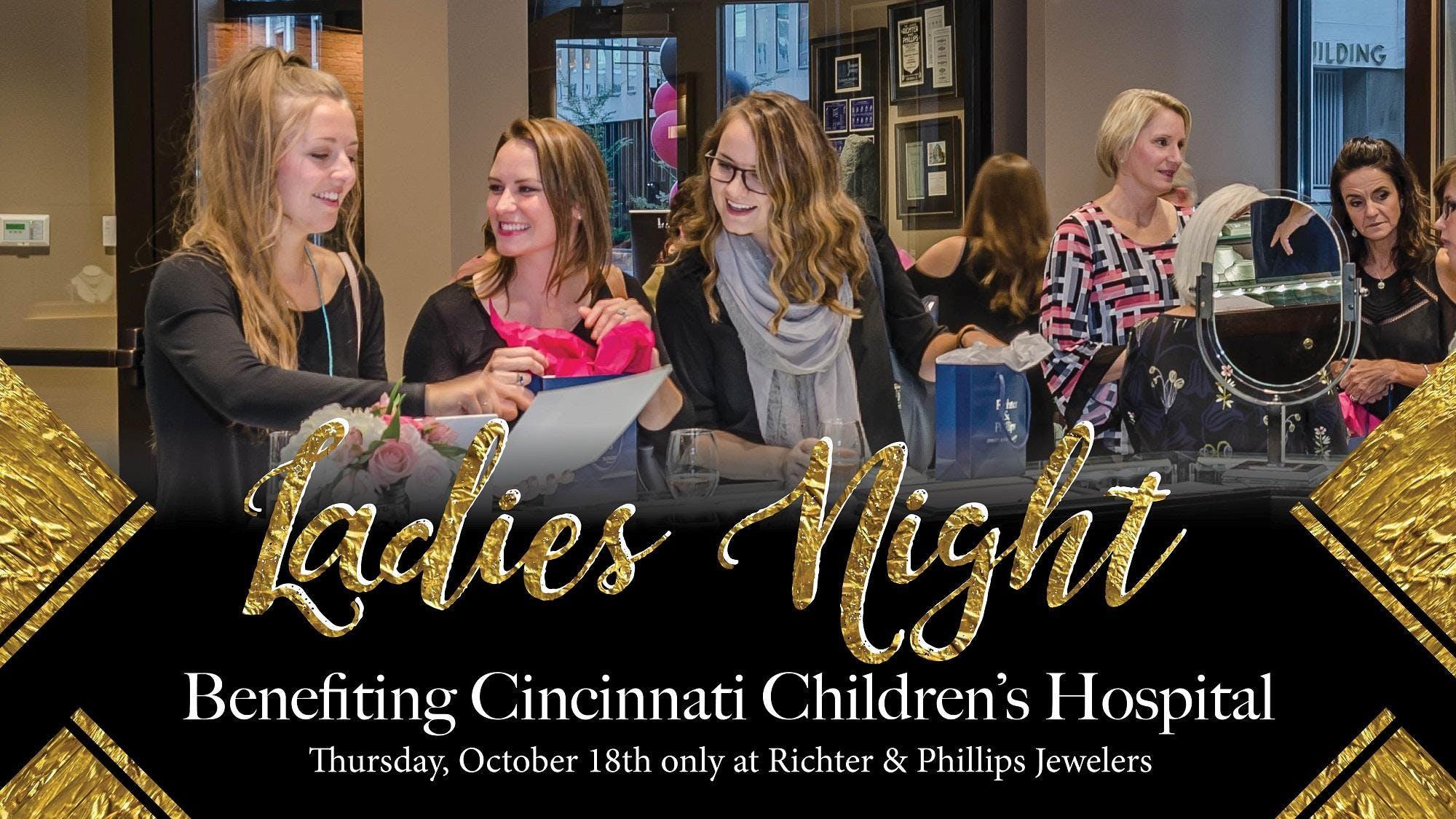 Ladies Night benefiting Cincinnati Children's