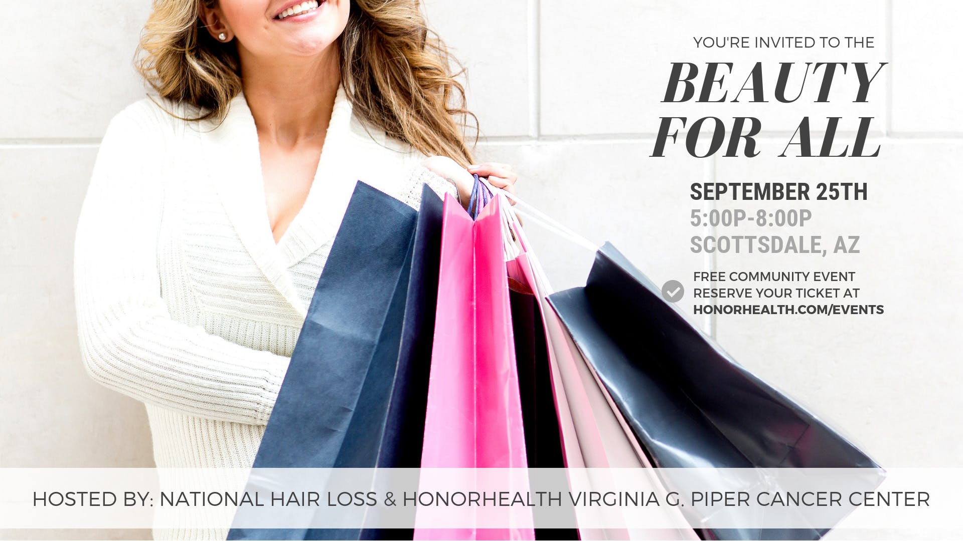 Beauty For All - Free Women's Health & Beauty Event