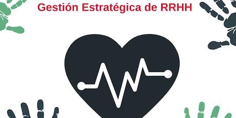 Curso de Gestión Estratégica de RRHH ingressos