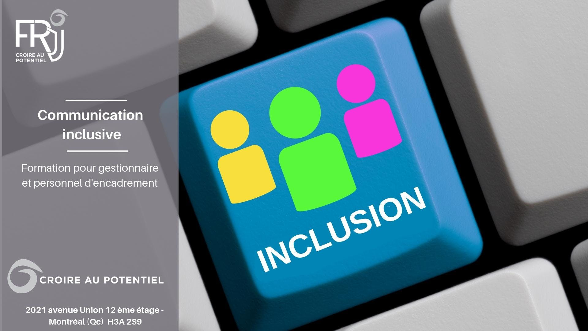 """Formation """"Communication Inclusive"""""""