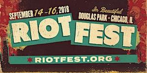 RIOT FEST 2018 I SATURDAY PASS