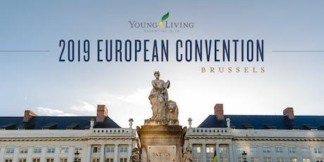 2019 European Convention - Brussels  billets
