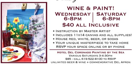 WINE & PAINT! tickets