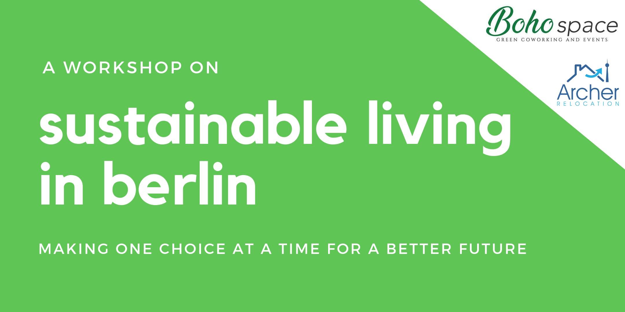 Sustainable Living Berlin: Workshop