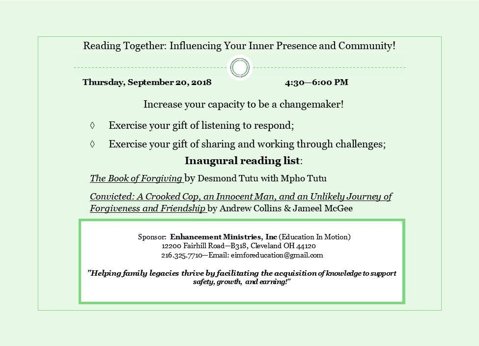 Reading Together: Influencing Your Inner Pres