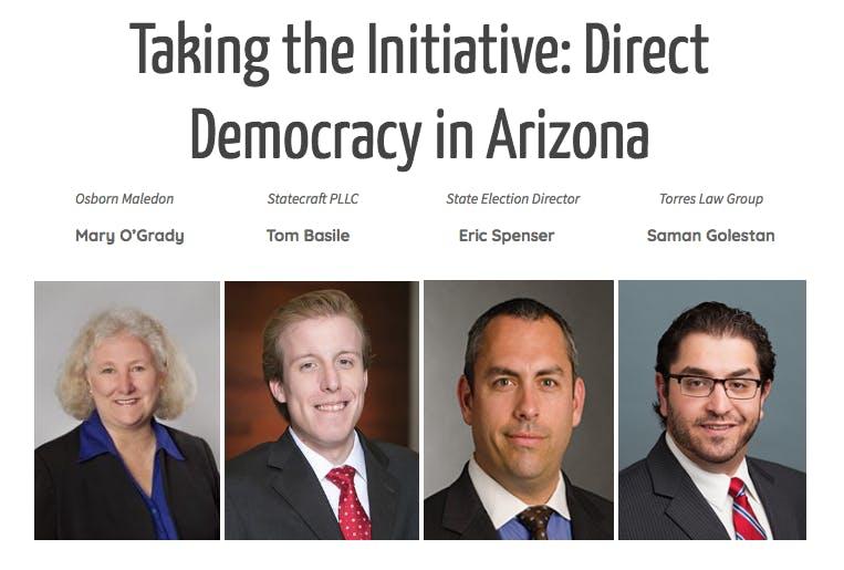 Taking the Initiative: Direct Democracy in Arizona