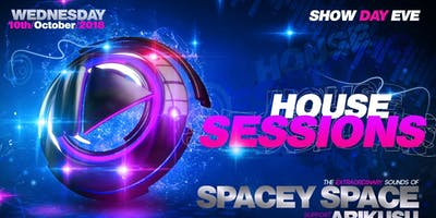 HOUSE SESSIONS - Spacey Space