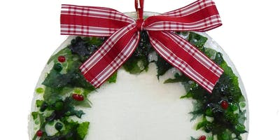 Glass Wreath Making Class