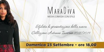 Sfilata di abbigliamento donna taglie comode del brand MaraDiva