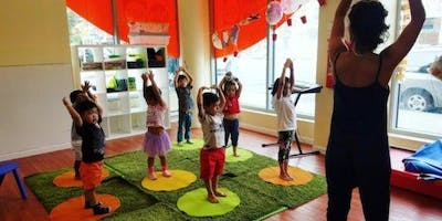 Gymboree Play and Music - Yoga and The Kids in Park Slope