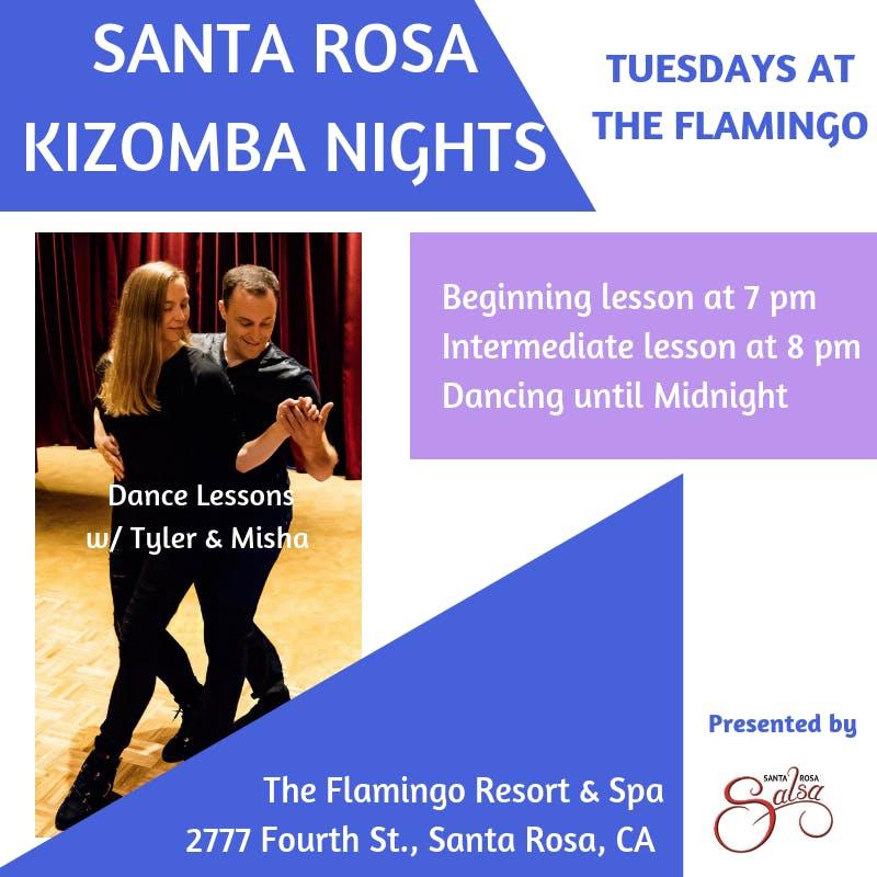 Santa Rosa Kizomba Nights - Tuesdays at The F
