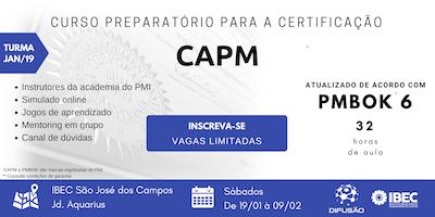 Preparatório CAPM - Turma JAN/19