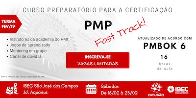 Preparatório PMP Fast Track - Turma FEV/19