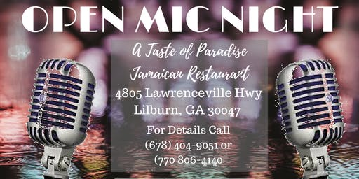 Open Mic - For Domestic Violence Awareness