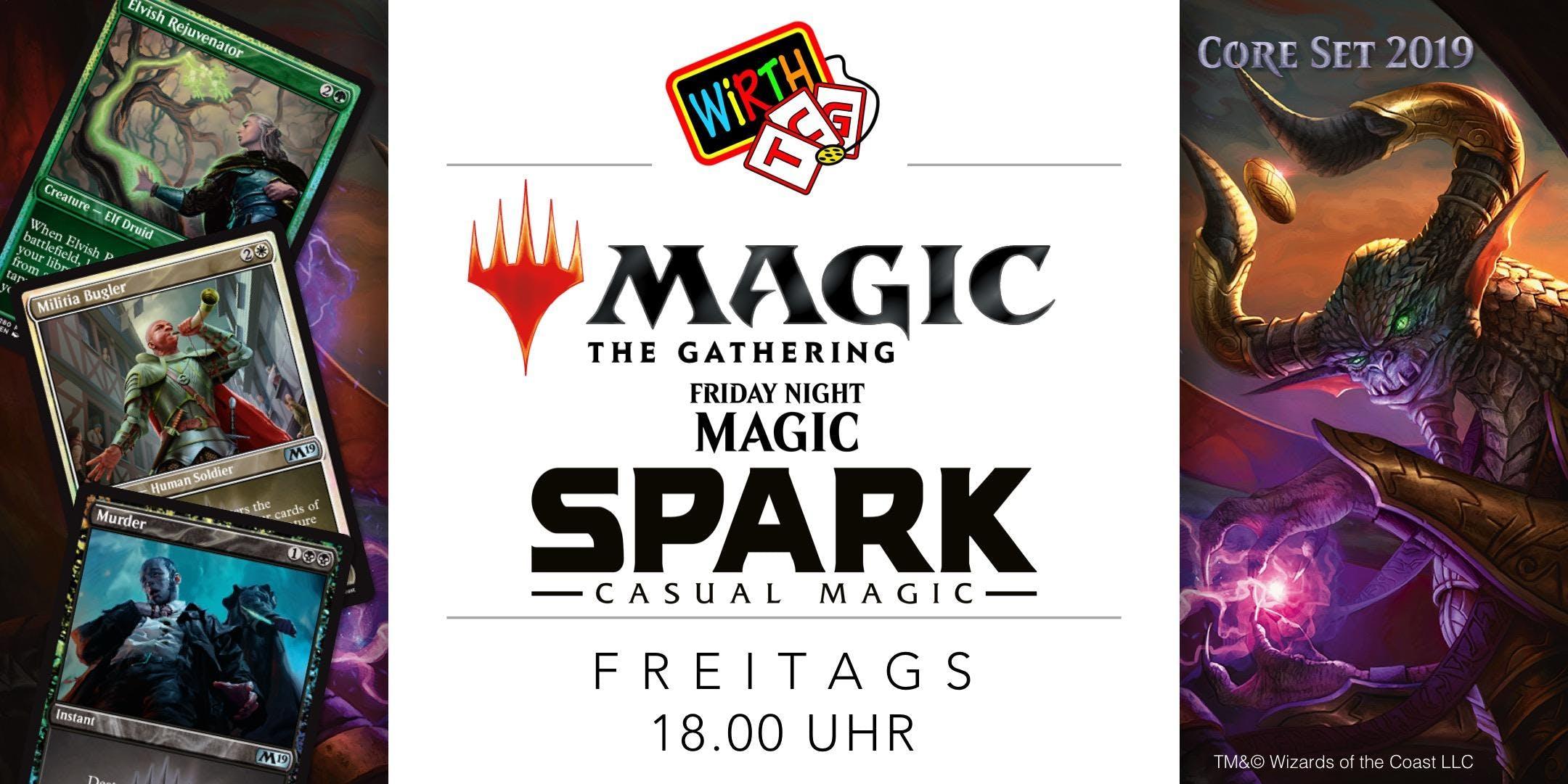 Friday Night Magic: SPARK Standardbased-Const