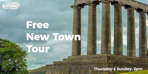 Free New Town Tour