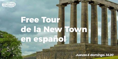 Free Tour de la New Town en español entradas
