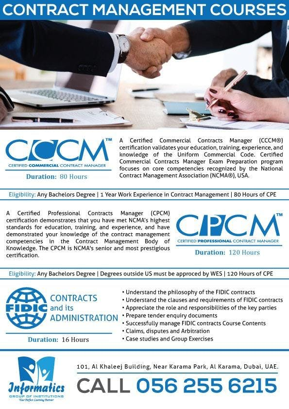 Become a Contract Management Professional - CCCM & CPCM ...