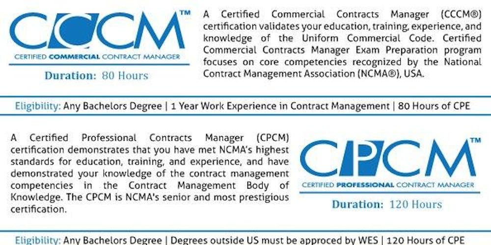 Become a Contract Management Professional - CCCM & CPCM ...