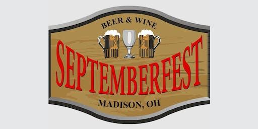 Septemberfest Beer and Wine Festival