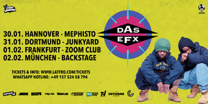Das Efx Live in Hannover - 30.01. Mephisto